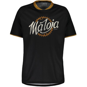 Maloja SchleinsM. Bike Jersey Shortsleeve Men black